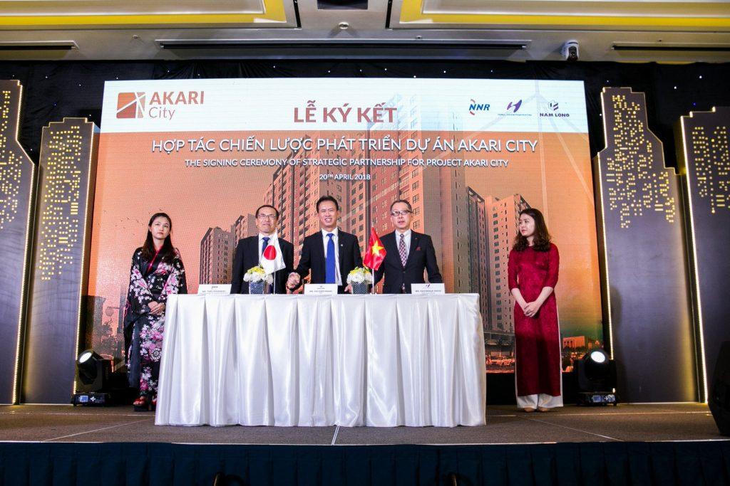 Dự án thị trấn thành phố Akari nằm ở quận Bình Tân, thành phố Hồ Chí Minh.
