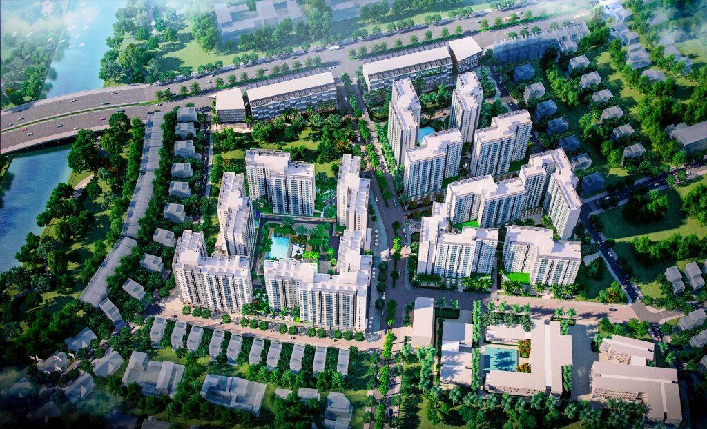 Tổng thể khu đô thị Akari City Bình Tân