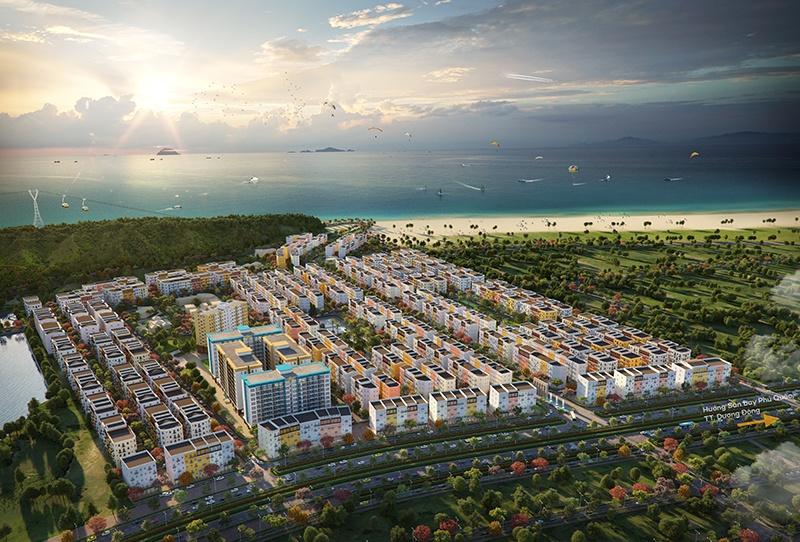 Tập đoàn Sun Group – một trong những nhà phát triển bất động sản hàng đầu cả nước – xây dựng khu đô thị hiện đại tại Phú Quốc.